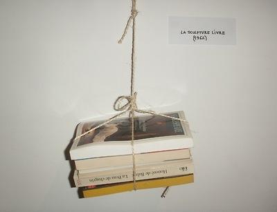 Sculpture-livre