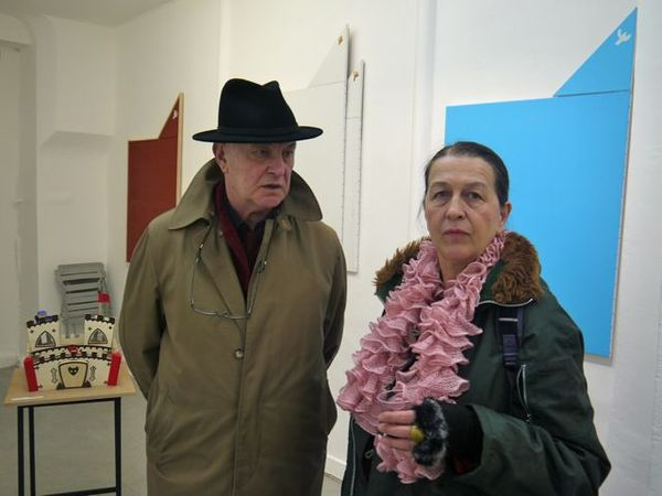 Vernissage de gillard la galerie satellite lettrisme xxie si cle site officiel - La galerie des offices site officiel ...